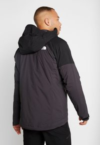 The North Face - IMPENDOR INSULATED JACKET - Outdoorjacka - weathered black/black