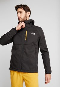 The North Face - QUEST HOODED - Kurtka Softshell - black - 0