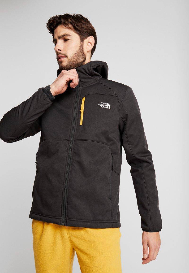 The North Face - QUEST HOODED - Softshellová bunda - black
