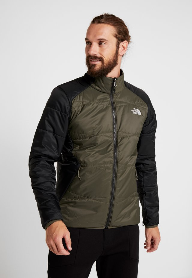 QUEST  - Chaqueta outdoor - new taupe green/black