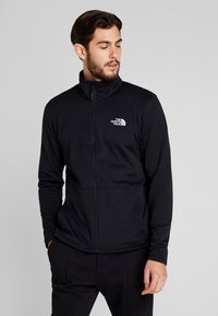 The North Face - QUEST TRICLIMATE JACKET 2-IN-1 - Hardshell jacket - yellow/black - 3