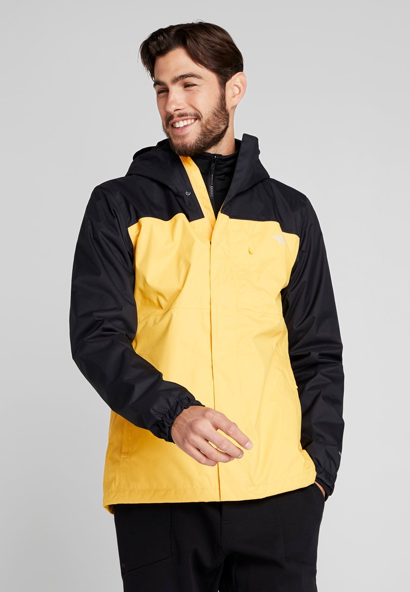 The North Face - QUEST TRICLIMATE JACKET 2-IN-1 - Outdoorjas - yellow/black