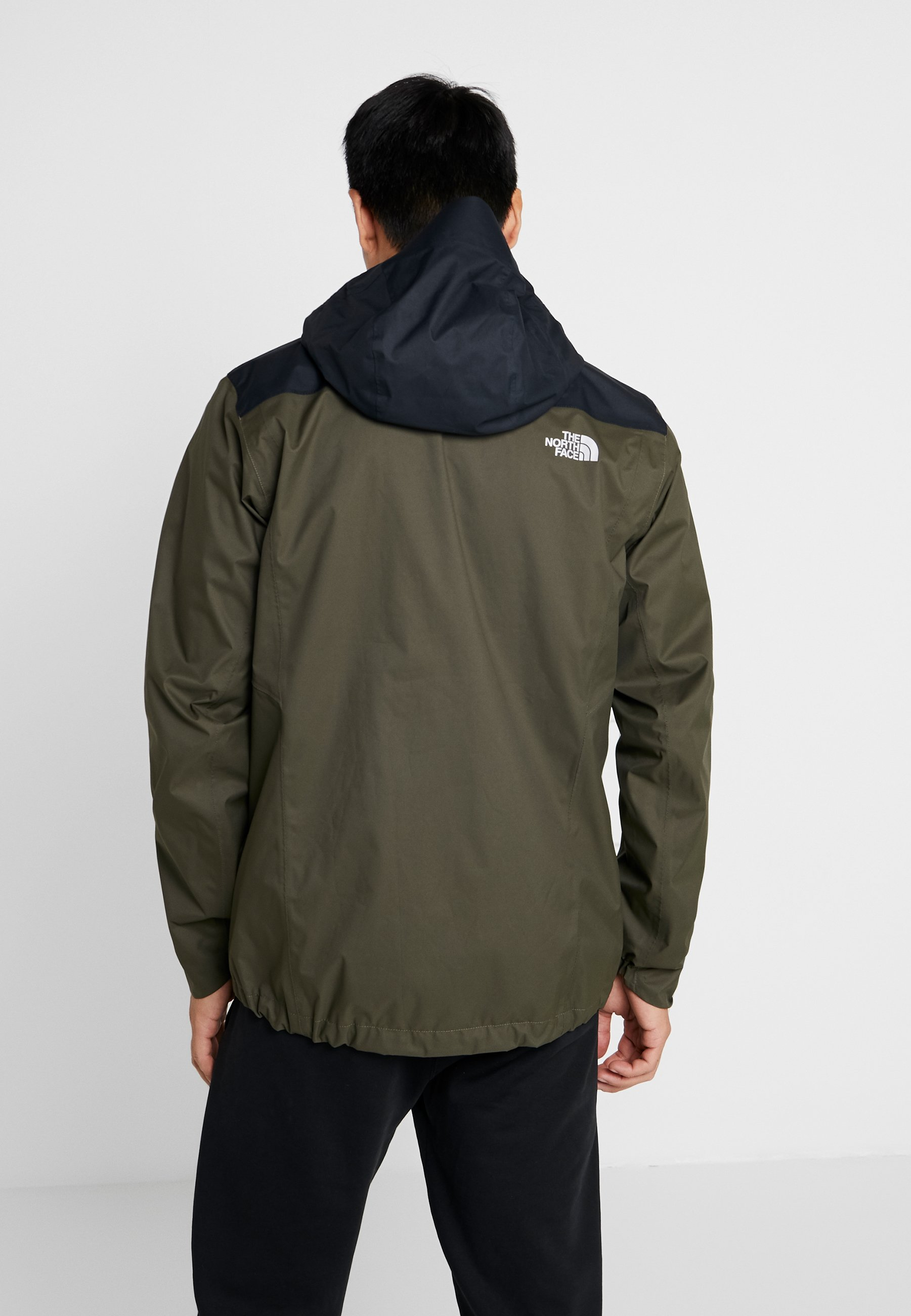 Taupe The Quest In North Face JacketVeste Green black Hardshell Zip New 4R35jALq