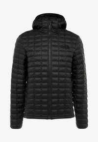 The North Face - THERMOBALL ECO HOODIE - Zimní bunda - black matte - 5
