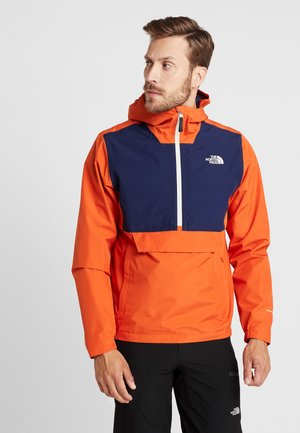 WATERPROOF FANORAK - Hardshell jacket - papaya orange