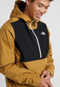 The North Face - WATERPROOF FANORAK - Hardshell jacket - british khaki - 3