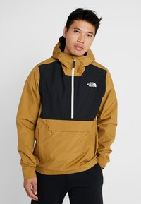 The North Face - WATERPROOF FANORAK - Chaqueta Hard shell - british khaki - 0