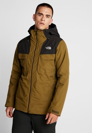 FOURBARREL TRICLIMATE 2-IN-1 - Ski jas - military olive/black