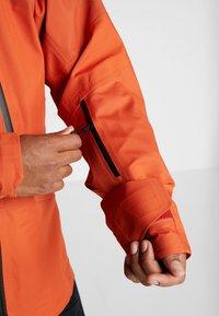 The North Face - M BRIGANDINE FutureLight™ JACKET - Kurtka narciarska - papaya orange/black - 5