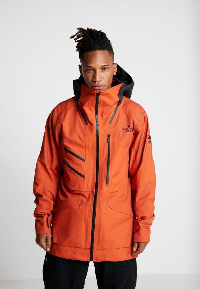 M BRIGANDINE FutureLight™ JACKET - Chaqueta de esquí - papaya orange/black