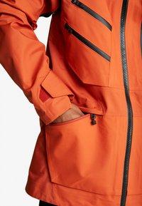 The North Face - M BRIGANDINE FutureLight™ JACKET - Kurtka narciarska - papaya orange/black - 4