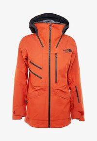 The North Face - M BRIGANDINE FutureLight™ JACKET - Kurtka narciarska - papaya orange/black - 7