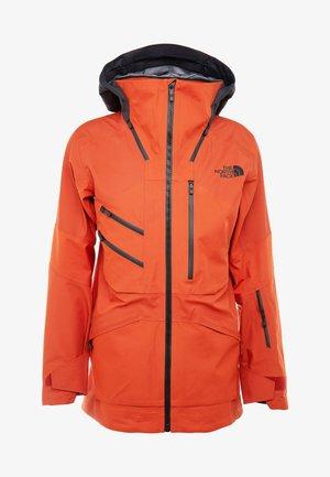 M BRIGANDINE FutureLight™ JACKET - Lyžařská bunda - papaya orange/black