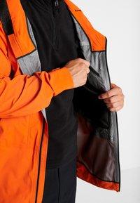 The North Face - M FREETHINKER FutureLight™ JACKET - Kurtka narciarska - papaya orange/black - 5