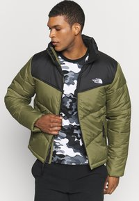 The North Face - MENS SAIKURU JACKET - Zimní bunda - burnt olive green - 0