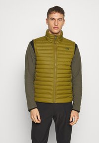 The North Face - MENS STRETCH VEST - Smanicato - fir green - 0