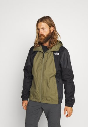 MEN'S FARSIDE JACKET - Hardshelljacke - burnt olive green
