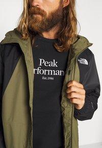 The North Face - MEN'S FARSIDE JACKET - Kurtka hardshell - burnt olive green - 4