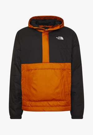 MENS INSULATED FANORAK - Outdoorjas - caramel cafe/black