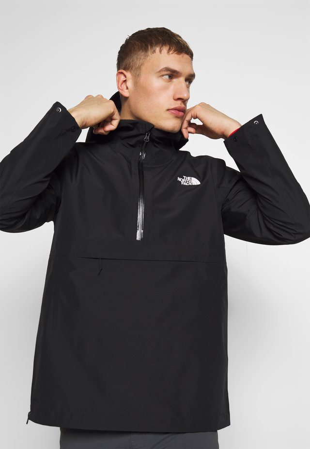 MEN'S ARQUE JACKET - Hardshelljacka - black