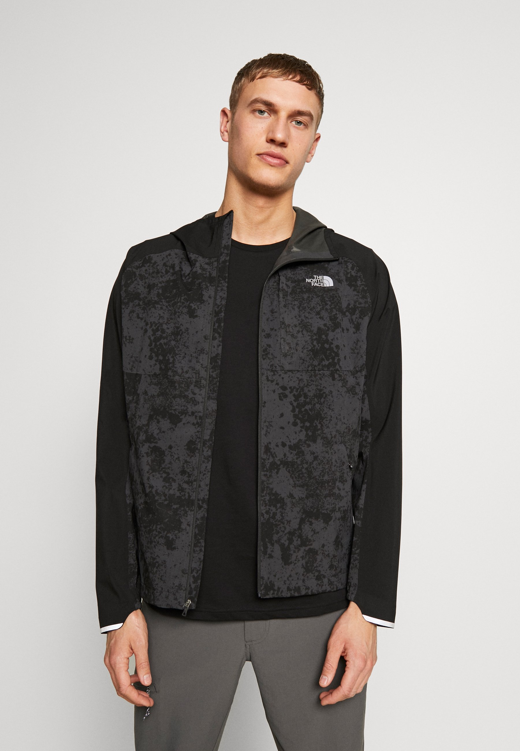 The North Face Mens Ambition Jacket - Giacca Outdoor Dark Grey/black dnreQbU