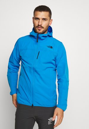 MENS NORTH DOME STRETCH JACKET - Wiatrówka - clear lake blue