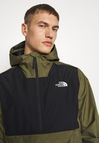 The North Face - MEN'S WATERPROOF FANORAK - Veste coupe-vent - burnt olive - 3