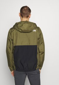 The North Face - MEN'S WATERPROOF FANORAK - Veste coupe-vent - burnt olive - 2