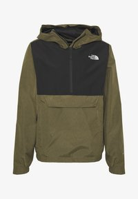 The North Face - MEN'S WATERPROOF FANORAK - Veste coupe-vent - burnt olive - 5