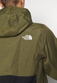 The North Face - MEN'S WATERPROOF FANORAK - Veste coupe-vent - burnt olive - 6