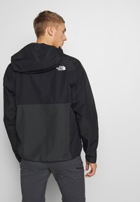 The North Face - MEN'S WATERPROOF FANORAK - Veste coupe-vent - black - 2