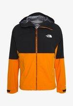 MEN'S IMPENDOR FUTURELIGHT™ JACKET - Hardshell jacket - black/flame orange