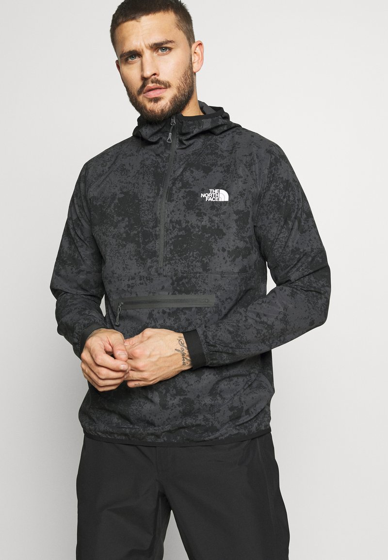 The North Face - MENS VARUNA - Wiatrówka - asphalt grey