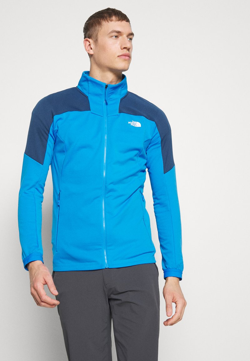 The North Face - MEN'S IMPENDOR MID LAYER - Kurtka z polaru - clear lake blue/blue teal