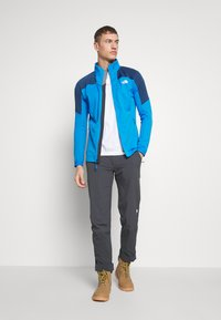 The North Face - MEN'S IMPENDOR MID LAYER - Kurtka z polaru - clear lake blue/blue teal - 1