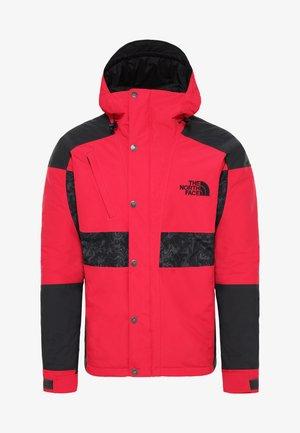 94RAGE WP SYN INS JK - Kurtka snowboardowa - black/red