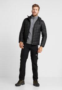 The North Face - MEN GLACIER ZIP - Fleece jumper - medium grey heather/high rise grey - 1