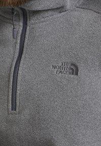 The North Face - MEN GLACIER ZIP - Fleece jumper - medium grey heather/high rise grey - 5