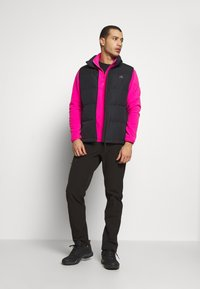 The North Face - MEN GLACIER ZIP - Forro polar - pink - 1