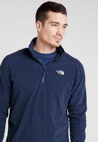 The North Face - MEN GLACIER ZIP - Bluza z polaru - dark blue - 3