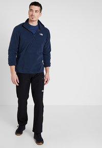 The North Face - MEN GLACIER ZIP - Bluza z polaru - dark blue - 1