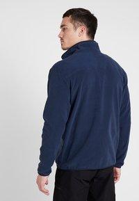 The North Face - MEN GLACIER ZIP - Bluza z polaru - dark blue - 2