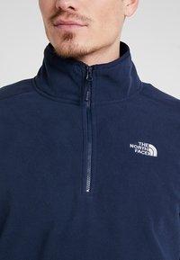 The North Face - MEN GLACIER ZIP - Bluza z polaru - dark blue - 5