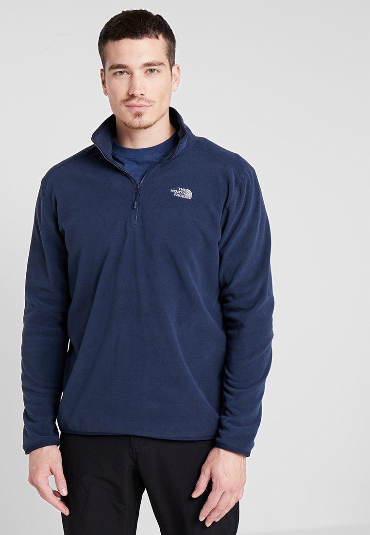 The North Face - MEN GLACIER ZIP - Bluza z polaru - dark blue