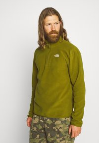 The North Face - MEN GLACIER ZIP - Fleece trui - fir green - 0