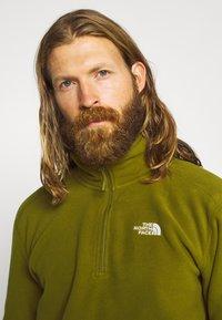 The North Face - MEN GLACIER ZIP - Fleece trui - fir green - 3
