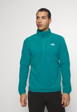 MEN GLACIER ZIP - Fleecepaita - fanfare green