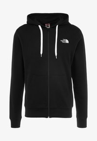 The North Face - OPEN GATE - Mikina na zip - black/white - 3