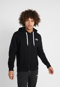 The North Face - OPEN GATE - Mikina na zip - black/white - 0