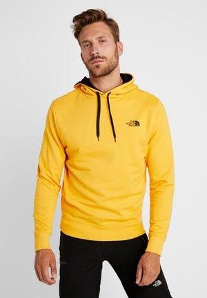 DREW PEAK  - Hoodie - tnf yellow